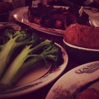Photo taken at Peter Luger Steak House by Kevin D. on 12/28/2012