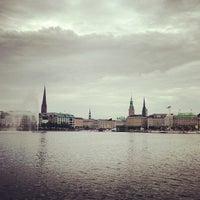 Photo taken at Hamburg by Emrecan D. on 6/12/2013