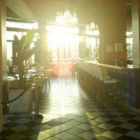Photo taken at Café & Bar Lurcat by Josh on 11/10/2012