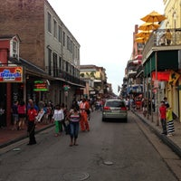 Photo taken at Rue Bourbon by Chris 'Spike' on 5/11/2013