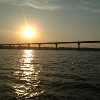 Photo taken at Mile Long Bridge by Dina M. on 8/25/2013
