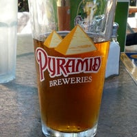 Photo taken at Pyramid Brewery & Alehouse by Erich D. on 10/14/2012