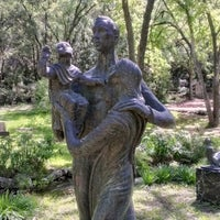 Photo taken at Umlauf Sculpture Garden by Charlie S. on 3/26/2013