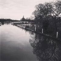 Photo taken at Teddington Lock by Grant R. on 2/28/2016