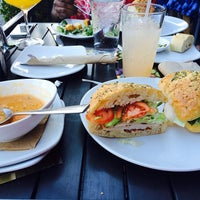 Photo taken at California Pizza Kitchen at Beverly Hills by Pierre K. on 1/19/2014