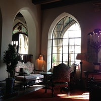 Photo taken at Château Marmont by Mira V. on 2/6/2013