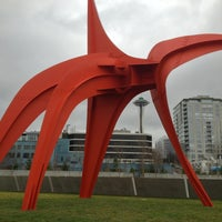 Photo taken at Olympic Sculpture Park by Joe M. on 1/27/2013