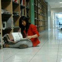 Photo taken at Library BINUS University by irfa vioneta p. on 9/21/2012