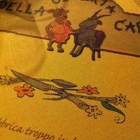 Photo taken at Osteria Della Capra Di Belli Romana E Angela by Jessica F. on 11/11/2012