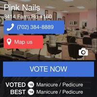 Photo taken at Pink Nails by Pink N. on 4/11/2015
