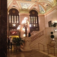Photo taken at Palmer House - A Hilton Hotel by K-Na E. on 2/17/2013