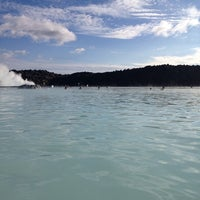 Photo taken at Blue Lagoon Spa by Ekaterina D. on 6/11/2014