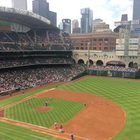 Photo taken at Minute Maid Park by J R. on 4/7/2013
