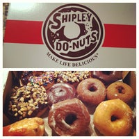 Photo taken at Shipley's Donuts by Jasmine B. on 10/13/2012