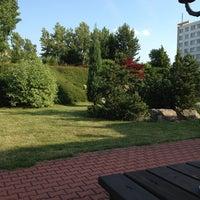 Photo taken at Top Hotel Praha by Serkan K. on 7/14/2013