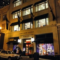 Photo taken at Saks Fifth Avenue - The Men's Store by River M. on 12/24/2013