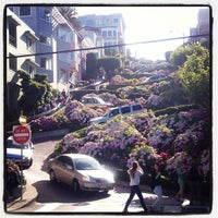 Photo taken at Lombard Street by River M. on 7/13/2013