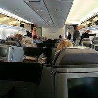 Photo taken at Lufthansa Flight LH 463 by Ivan R. on 9/27/2013