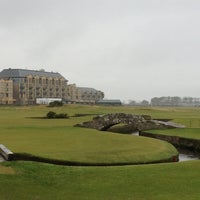 Photo taken at The Old Course St Andrews by Laura A. on 10/31/2012