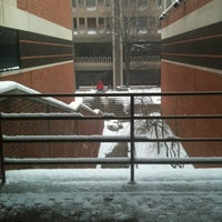 Photo taken at Schine Student Center by David P. on 2/1/2013