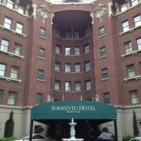 Photo taken at Hotel Sorrento by Susan P. on 9/13/2013