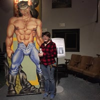 Photo taken at Leather Archives & Museum by Holden K. on 5/31/2015