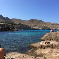 Photo taken at Cala Molins by Caroline R. on 8/31/2016