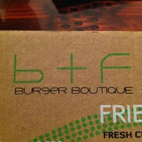 Photo taken at Burger Boutique by YSF 🐳 on 11/1/2012