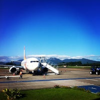 Photo taken at Aeroporto de Joinville / Lauro Carneiro de Loyola (JOI) by Gilson G. on 1/24/2013