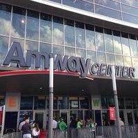 Photo taken at Amway Center by Etan H. on 4/13/2013