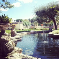 Photo taken at Vizcaya Museum and Gardens by Daniela C. on 11/15/2012