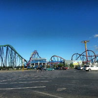Photo taken at Six Flags Great Adventure by Joey S. on 9/23/2012