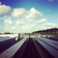 Photo taken at Luton Airport Parkway Railway Station (LTN) by Juha v. on 10/6/2012