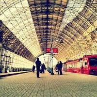 Photo taken at Kievsky Rail Terminal by Алексей Д. on 3/12/2013