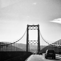 Photo taken at Vincent Thomas Bridge by Mitch D. on 9/9/2013