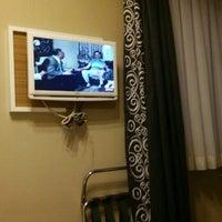 Photo taken at Yenibosna Hotel by Tugay K. on 8/20/2016