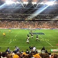 Photo taken at Suncorp Stadium by chris c. on 9/8/2013