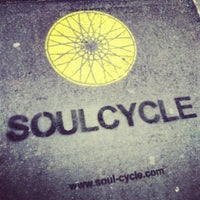 Photo taken at SoulCycle NoHo by Alyssa B. on 1/25/2013