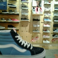 Photo taken at Vans by ann r. on 10/31/2012