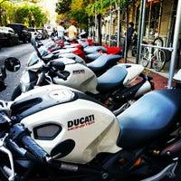 Photo taken at Ducati Triumph New York by Christophe J. on 10/20/2012