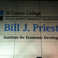 Photo taken at Bill J. Priest Institute for Economic Development by CHuck B. on 3/26/2013