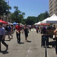 Photo taken at FRESHFARM Market by the White House by John T. on 7/16/2015