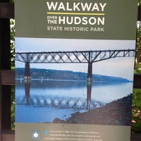 Photo taken at Walkway Over the Hudson State Historic Park by Lex L. on 5/12/2013