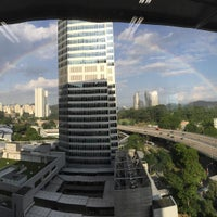Photo taken at Mapletree Business City by followLin on 7/30/2015