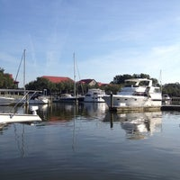 Photo taken at Shelter Cove Harbour by Ally on 9/28/2012