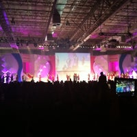 Photo taken at Transamérica Expo Center by Cheyenne D. on 1/19/2013