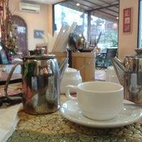 Photo taken at Cafe Moka by Indri K. on 1/1/2014
