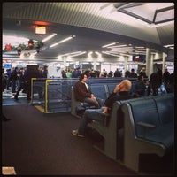 Photo taken at Gate B17 by Cosmo C. on 12/14/2013