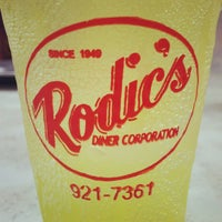 Photo taken at Rodic's Diner by Markku S. on 3/25/2013