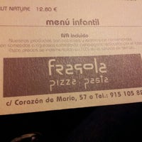 Photo taken at Fragola Pizza Pasta by Jesus I. on 1/7/2013